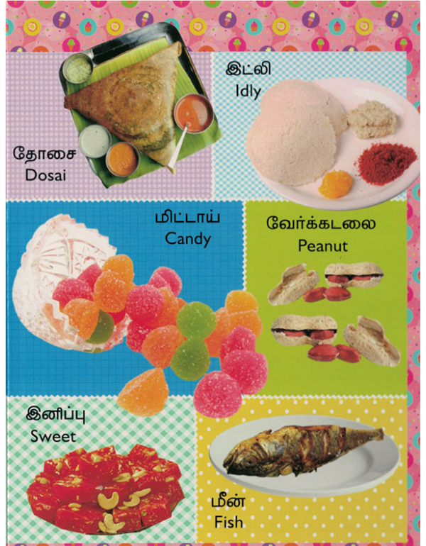 Tamil-English Picture Dictionary