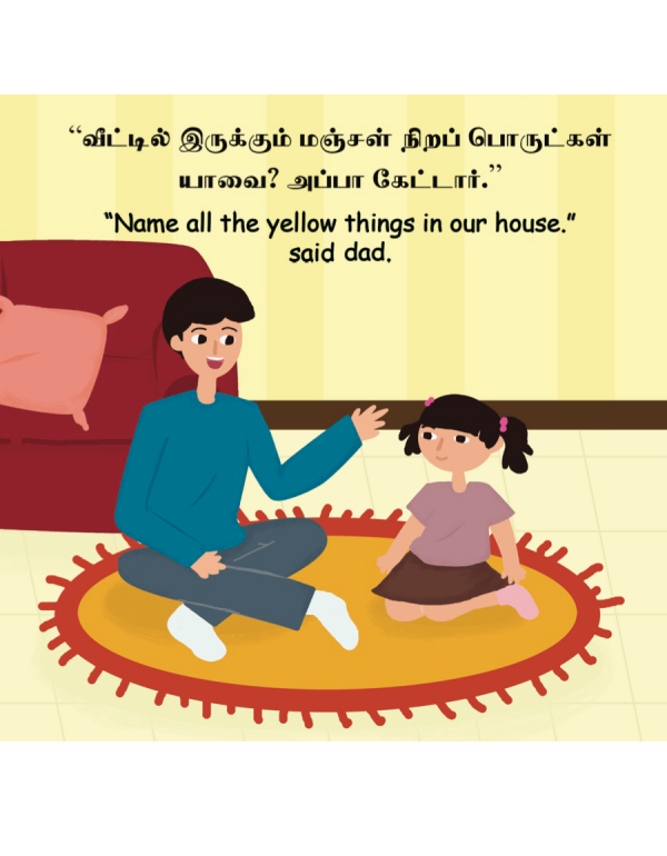All Things Yellow In My House